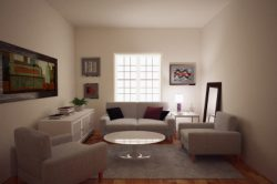The Decoration, Design and Color Ideas for a Small Living Room