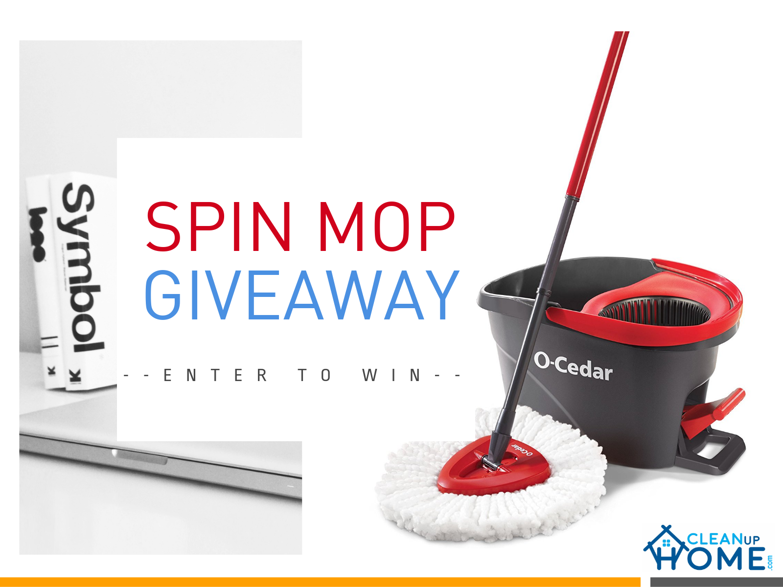 Giveaways of Spin Mop O-Cedar