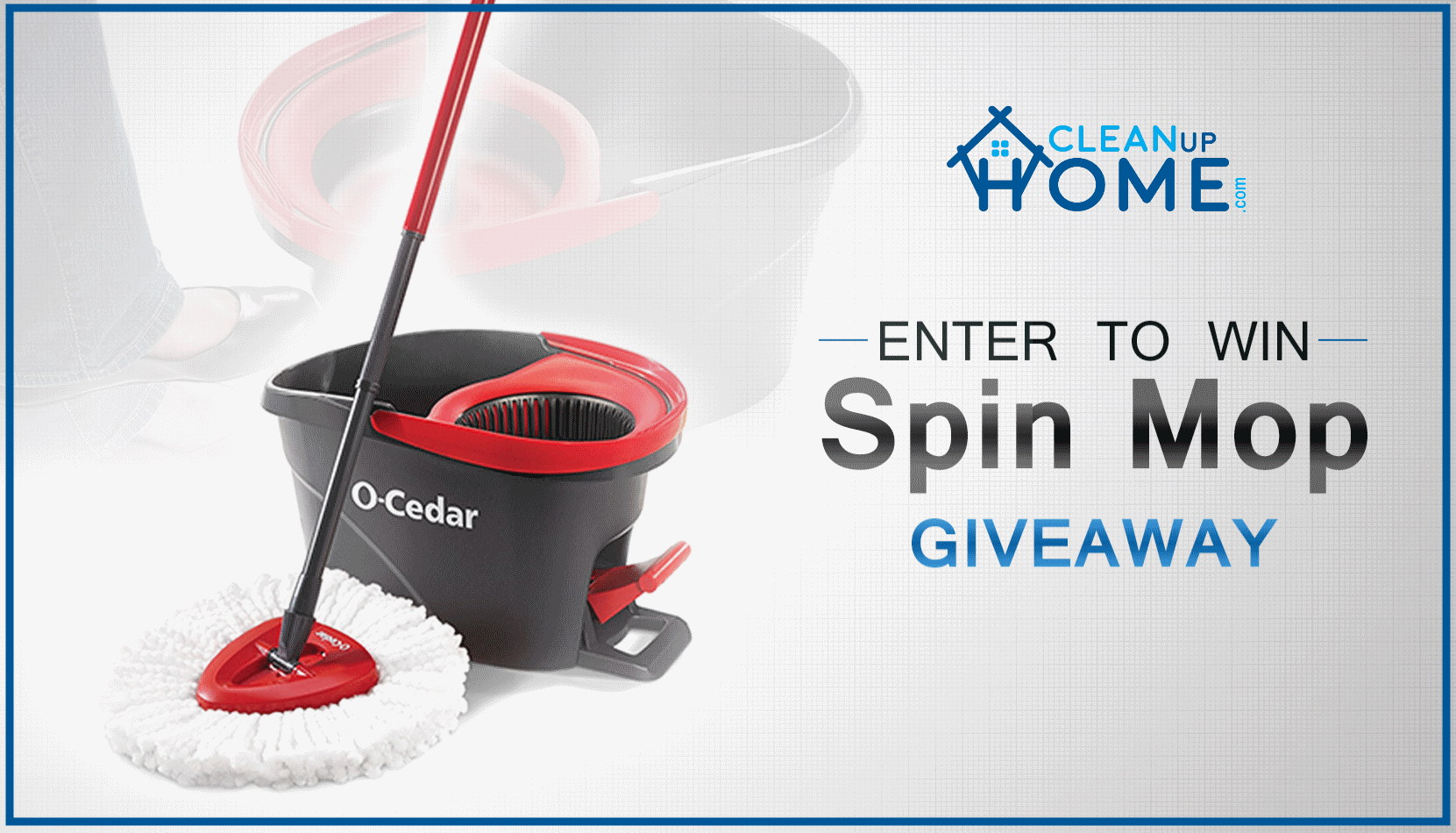 Giveaway of Spin Mop