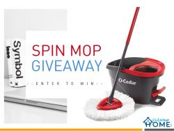 Ultimate Spin Mop Contest Giveaway that Changes Life IMMENSELY!