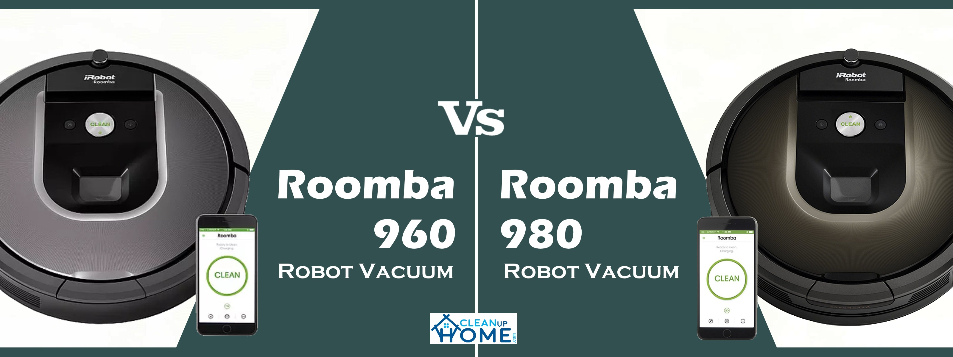 roomba 960 vs 980 robot vacuum