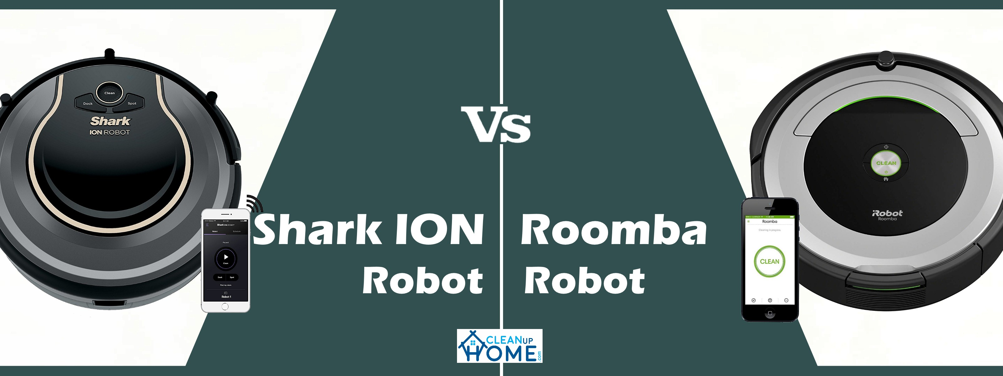 Shark ION Robot Vs Roomba