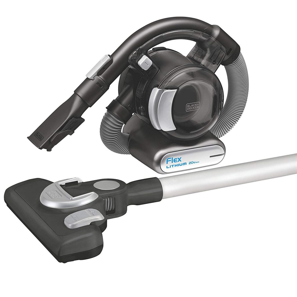 Black Decker Flex Vacuum with Floor Head