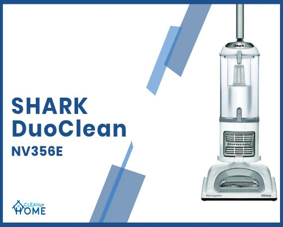 Best vacuum for hardwood floors (Shark DuoClean NV356E)
